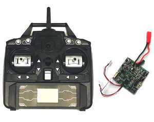 JJRC H40WH RC quadcopter spare parts transmitter + PCB board set