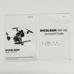 JJRC H40WH RC quadcopter spare parts English manual instruction book