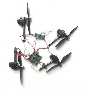 JJRC H40WH RC quadcopter spare parts side motors and PCB board set