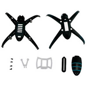 JJRC H42 H42WH RC quadcopter drone spare parts upper and lower cover set