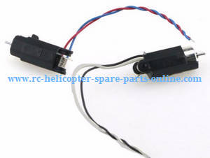 JJRC H49WH H49 RC quadcopter spare parts main motors with motor deck 2pcs