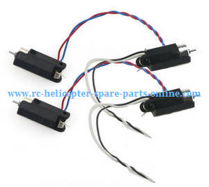 JJRC H49WH H49 RC quadcopter spare parts main motors with motor deck 4pcs