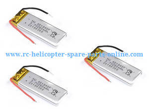 JJRC H49WH H49 RC quadcopter spare parts 3.7V 250mAh battery 3pcs