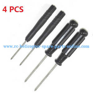 JJRC H49WH H49 RC quadcopter spare parts CRoss screwdriver (2*Small + 2*Big 4PCS)