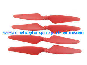Hubsan H501 H501S H501S-S RC Quadcopter spare parts main blades (Red)