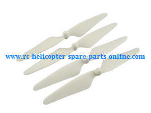 Hubsan H501 H501S H501S-S RC Quadcopter spare parts main blades (White)