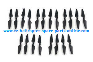 Hubsan H501 H501S H501S-S RC Quadcopter spare parts main blades (Black) 5sets