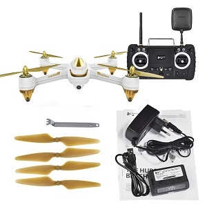 Hubsan H501S RC drones with H906A FPV transmitter (Random color) RTF