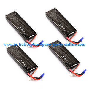Hubsan H501 H501S H501S-S RC Quadcopter spare parts 7.4V 2700mAh battery (4pcs)