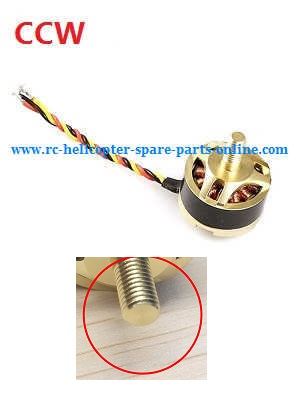 Hubsan H501 H501S H501S-S RC Quadcopter spare parts brushless motor (CCW)
