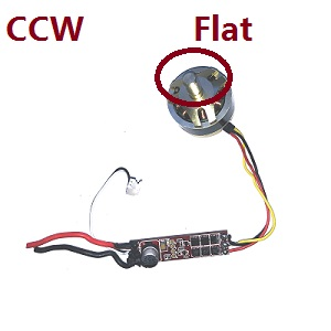 Hubsan H501A RC Quadcopter spare parts brushless motor with ESC board (CCW)