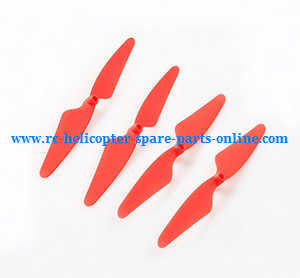 Hubsan H502T H502C RC Quadcopter spare parts main blades (Red)