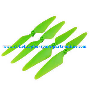 Hubsan H502S H502E RC Quadcopter spare parts main blades (Green)