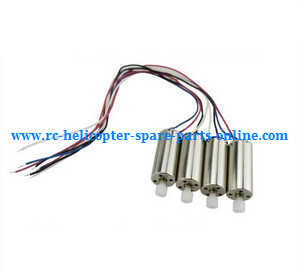 Hubsan H502S H502E RC Quadcopter spare parts main motors with plastic gears (4 pcs)