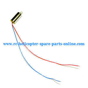 jjrc h5m rc quadcopter spare parts main motors (red-blue wire)