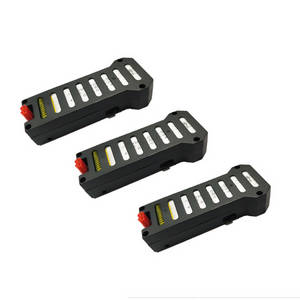 JJRC H61 RC quadcopter drone spare parts battery 3pcs
