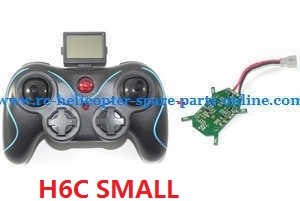 JJRC H6C H6D H6 quadcopter spare parts transmitter + PCB board (Small)
