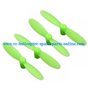 JJRC H7 quadcopter spare parts main blades (Green)