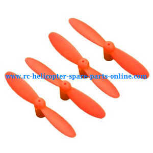 JJRC H7 quadcopter spare parts main blades (Red)
