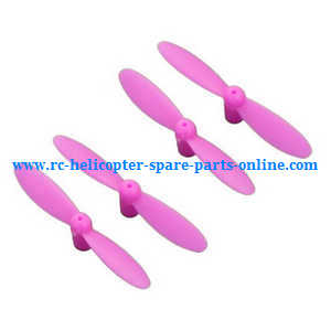 JJRC H7 quadcopter spare parts main blades (Pink)