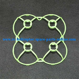 JJRC H7 quadcopter spare parts outer frame protection set (Green)
