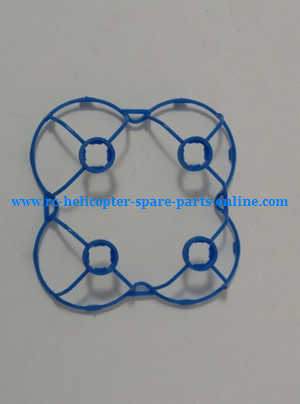 JJRC H7 quadcopter spare parts outer frame protection set (Blue)