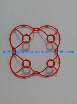 JJRC H7 quadcopter spare parts outer frame protection set (Red)