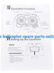 JJRC H7 quadcopter spare parts English manual book