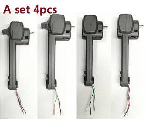 JJRC H73 RC Quadcopter spare parts side motor bar set (4pcs)
