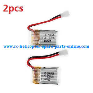 JJRC Eachine H8 Mini H8C Mini quadcopter spare parts battery 3.7V 150mAh 2pcs