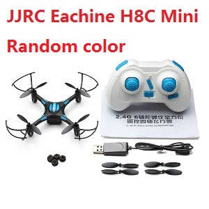 JJRC Eachine H8C Mini RC quadcopter with camera (Random color)