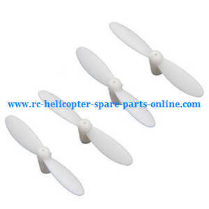 JJRC Eachine H8 Mini H8C Mini quadcopter spare parts main blades (White)