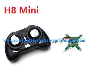 JJRC Eachine H8 Mini H8C Mini quadcopter spare parts PCB board + Transmitter (H8 Mini)