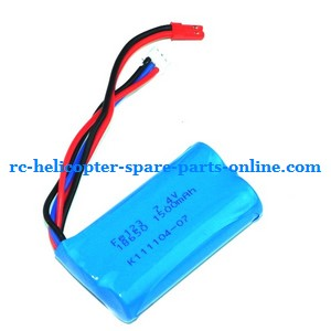 Huan Qi HQ 848 848B 848C RC helicopter spare parts battery 7.4V 1500mAh JST plug