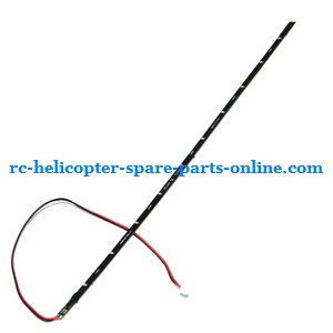Huan Qi HQ 848 848B 848C RC helicopter spare parts tail LED bar