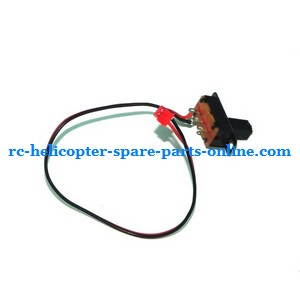 Huan Qi HQ 848 848B 848C RC helicopter spare parts on/off switch wire