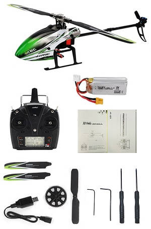 JJRC M03 2.4G 6CH Brushless RC Helicopter with 1 battery RTF
