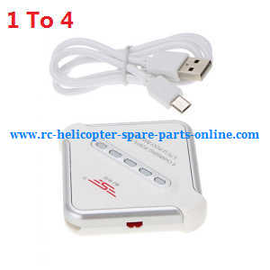 JJRC Q222 DQ222 Q222-G Q222-K quadcopter spare parts 1 to 4 charger box and USB wire JST plug