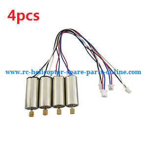 JJRC Q222 DQ222 Q222-G Q222-K quadcopter spare parts main motor (2*Black-White wire + 2*Red-Blue wire)