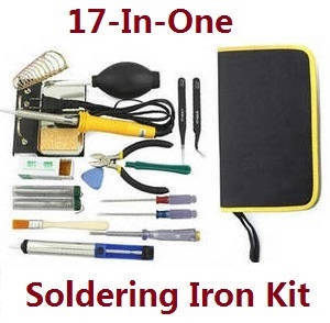 JJRC X12 RC quadcopter drone spare parts 17-In-1 60W soldering iron set