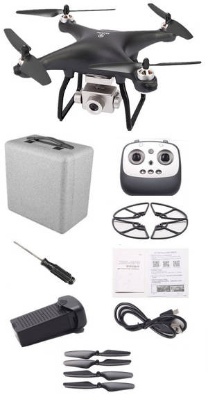 JJRC X13 RC drone with EPP case and 1 battery RTF