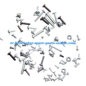 JTS 825 825A 825B RC helicopter spare parts screws set