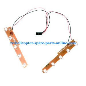 JTS 825 825A 825B RC helicopter spare parts side LED bar set