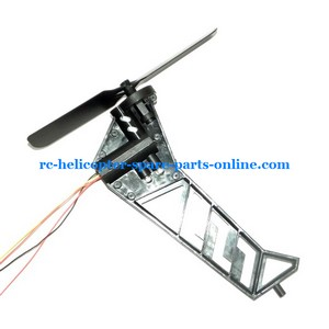 JTS 825 825A 825B RC helicopter spare parts tail blade + tail motor + tail motor deck + tail LED light (set)