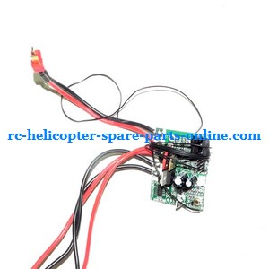 JTS 828 828A 828B RC helicopter spare parts PCB BOARD (27.145Mhz)