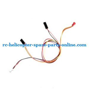 JTS 828 828A 828B RC helicopter spare parts wire interface