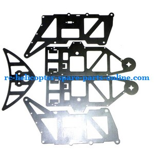 JTS 828 828A 828B RC helicopter spare parts metal frame set