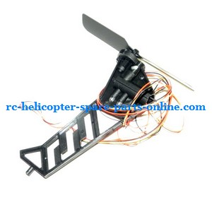 JTS 828 828A 828B RC helicopter spare parts tail blade + tail motor + tail motor deck (set)