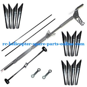 JTS 828 828A 828B RC helicopter spare parts $69.99 quick-wear spare parts package set by EMS
