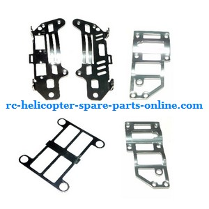 JXD 333 helicopter spare parts metal frame set